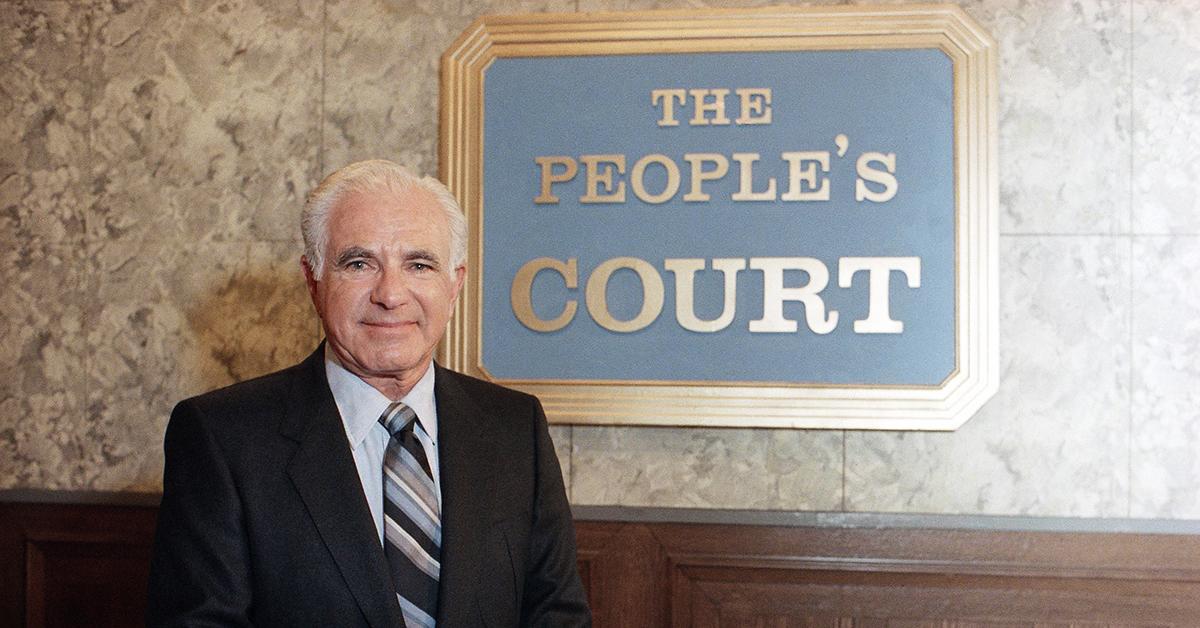 JUDGE JOSEPH WAPNER OF 'THE PEOPLE'S COURT'