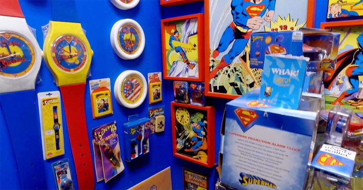 C7JVN 1602258678 15890 list items cc superman corner - Conoce la colección de Superman de Morgan Hambrick