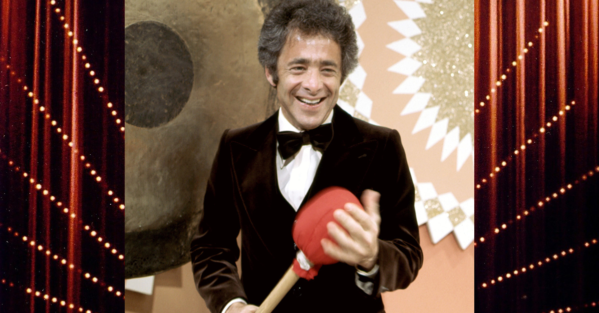 Chuck Barris, host of 'The Gong Show'