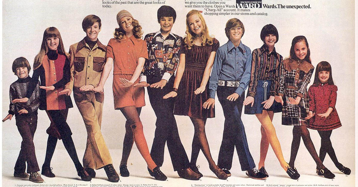 Fashion Trends That 1970s Kids Will Remember All Too Well
