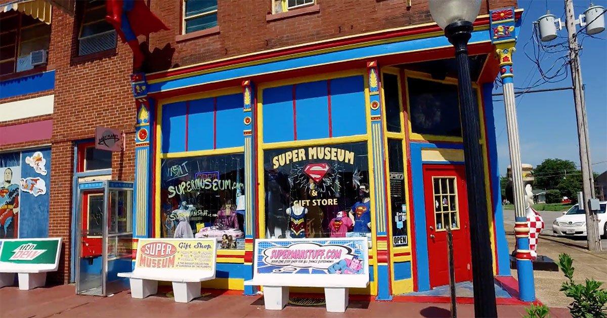 PHApQ 1602258633 15889 list items cc superman museum - Conoce la colección de Superman de Morgan Hambrick