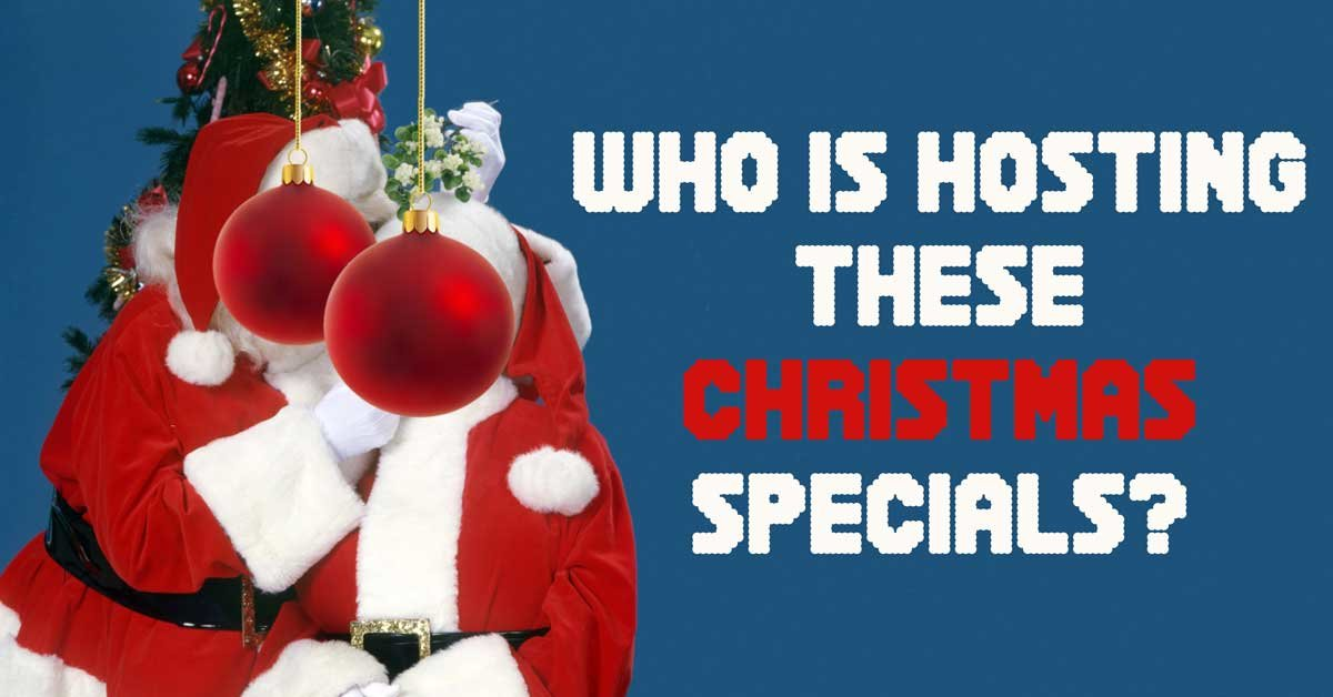 Christmas Crooner Specials 2020 Can you name the celebrities hosting these Christmas specials back