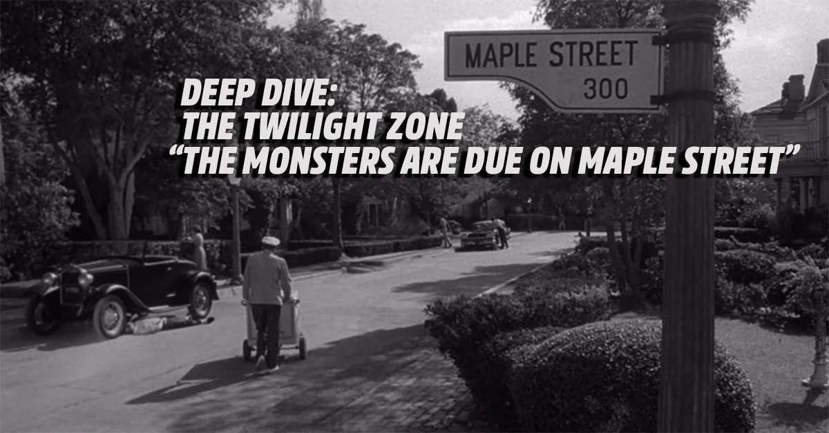 5 Things You Never Noticed In The Twilight Zone Classic The Monsters Are Due On Maple Street