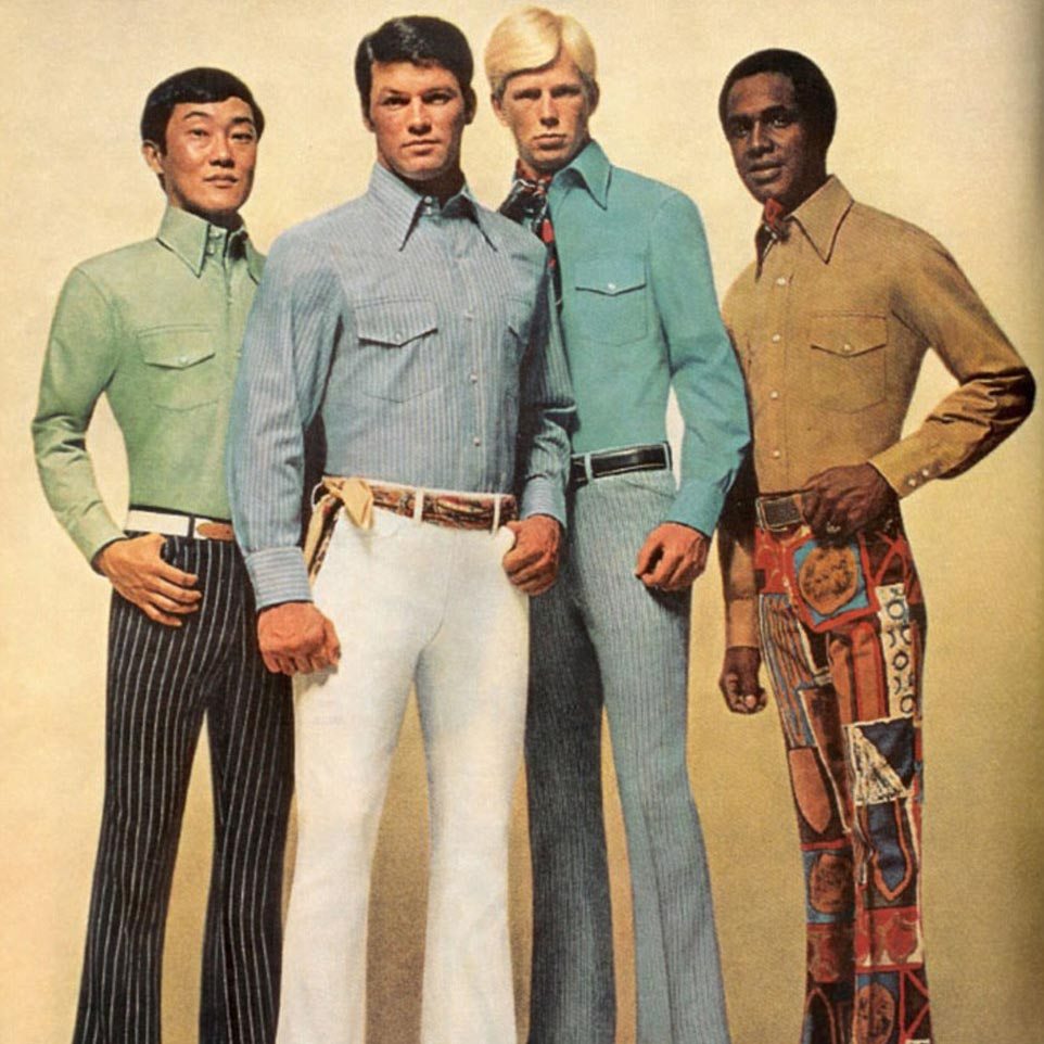 9 Groovy Fashion Trends From The 1970s