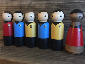 Star Trek Dig It Adult Work Shirt