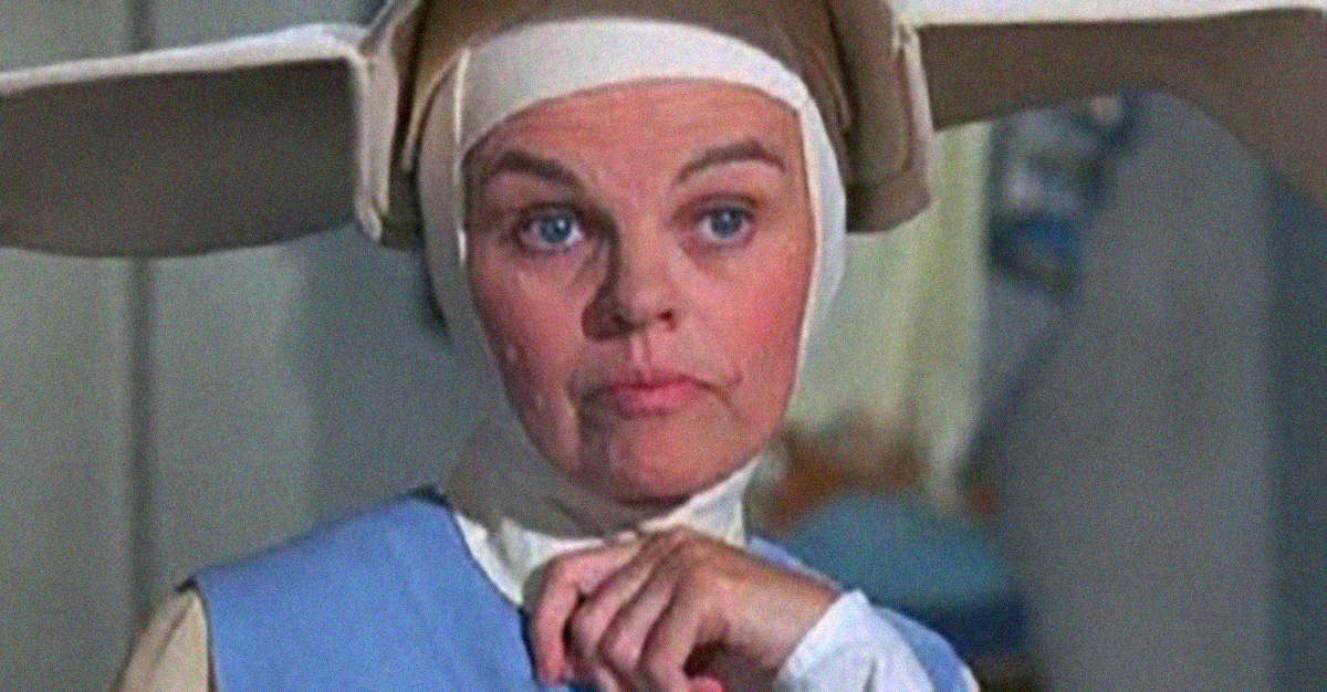 MADELEINE SHERWOOD, MOTHER SUPERIOR ON 'THE FLYING NUN'