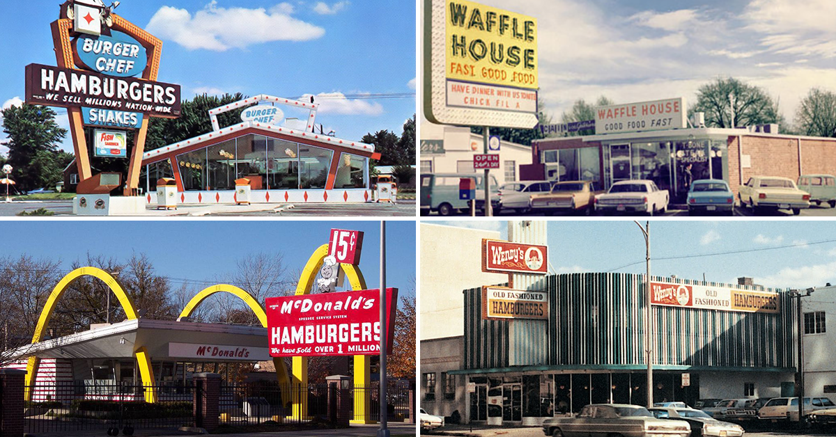 Here S The Original Location For All Our Favorite Fast Food Chains