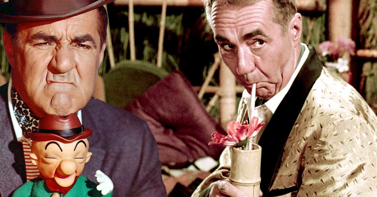 Jim Backus somehow starred in two competing TV shows in the same ...