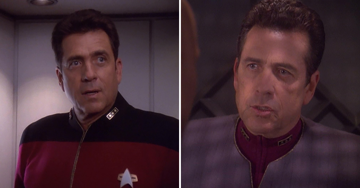 BARRY JENNER OF 'FAMILY MATTERS' AND 'STAR TREK: DEEP SPACE NINE'