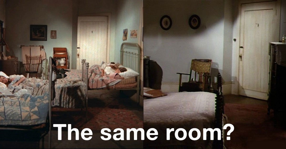 Did You Ever Notice The Similarities Between These Two Bedrooms On The Waltons