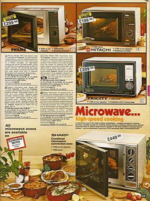 6 vintage microwave ads show the evolution of nuking your food