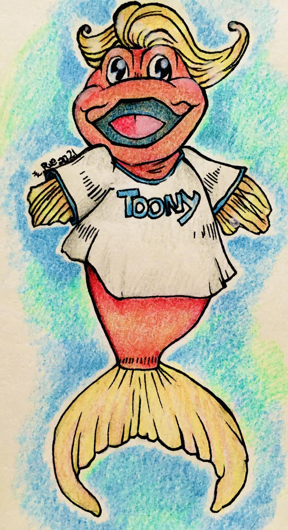 Love waking up with mom and dad and watching Toony every morning! Best way to start the day