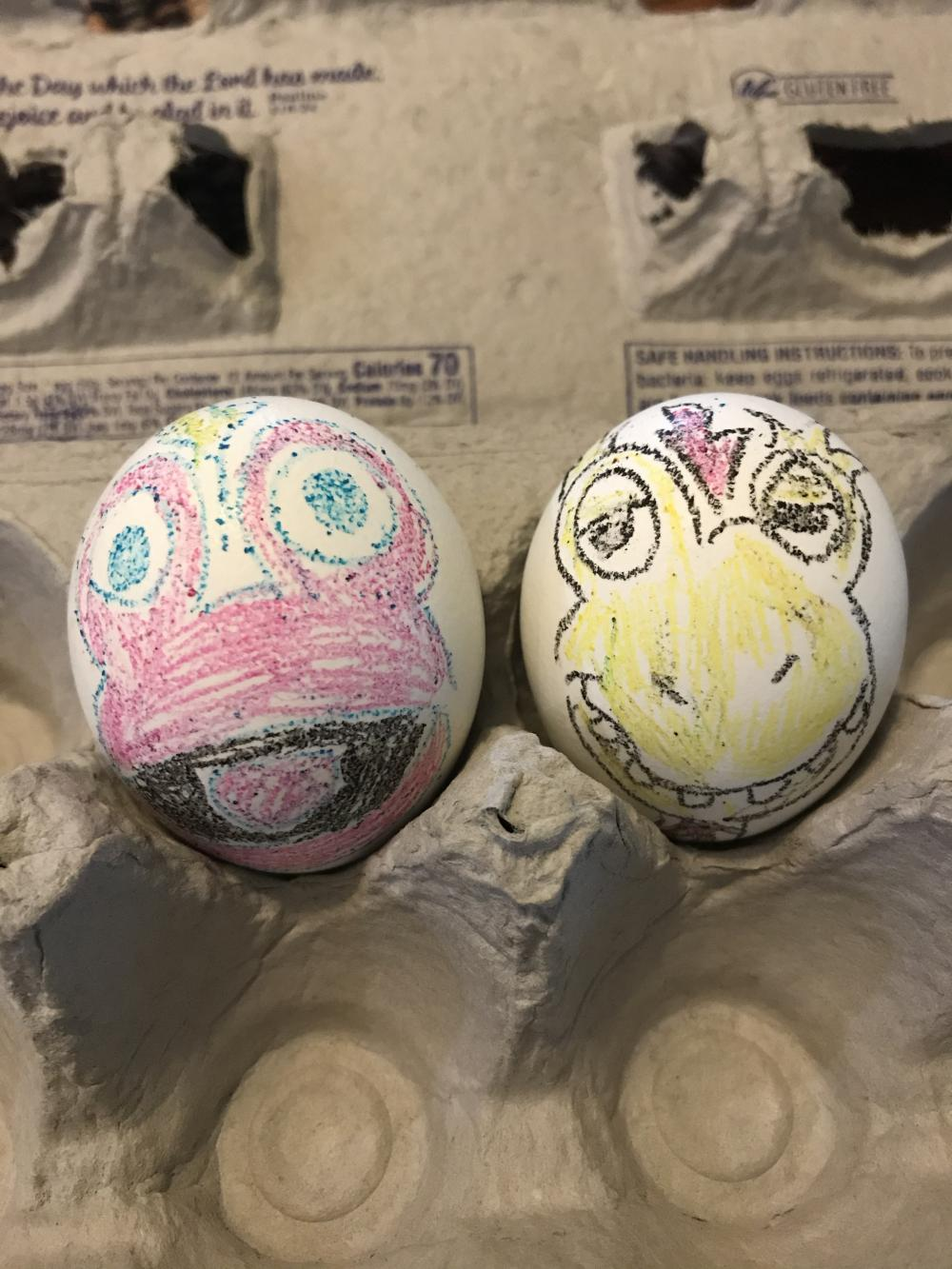 Toony and Kerwyn inspired Easter Eggs. We love seeing the great cartoons we grew up watching. Thank you for bringing these back to us!