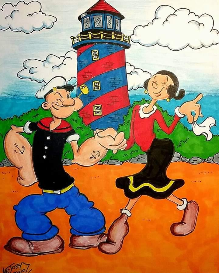 Hi Bill and Tooney! I've always been a fan of Popeye and it's influenced my career as a cartoonist. . (Although I don't actually like spinach but don't tell anyone. Lol)
