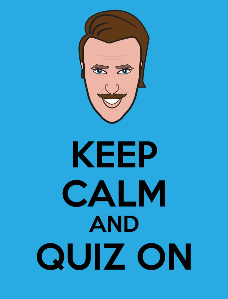I decided to do some Keep Calm Posters featuring the Toon In With Me Crew. Here is Mr. Quizzer!