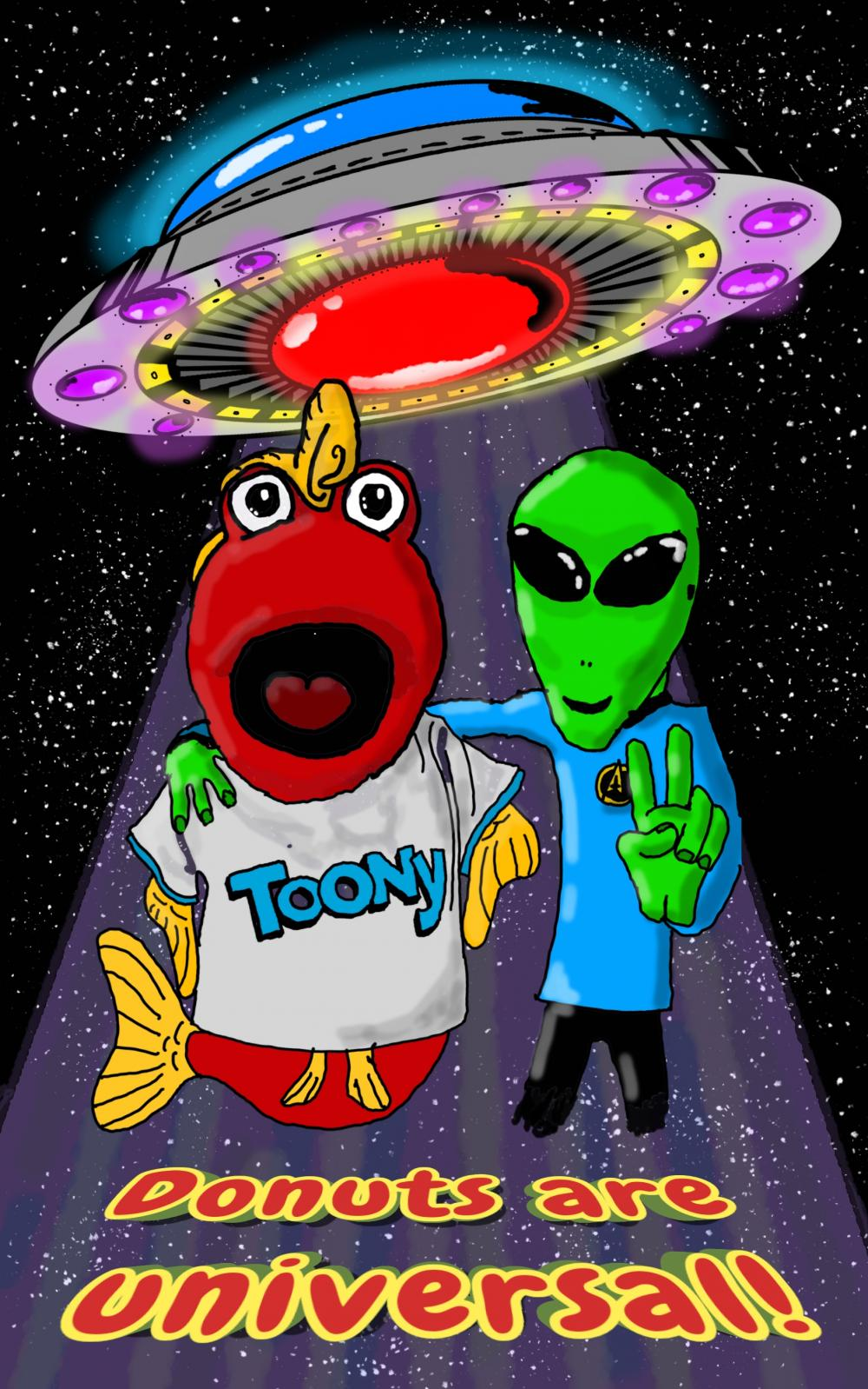 I love Toony! I wake up at 5:55am every day so I can get my cartoons.  I really  liked the space themed episode of Toony on the day Blue Origin launched its first spaceship. What a moment in history we got to see!