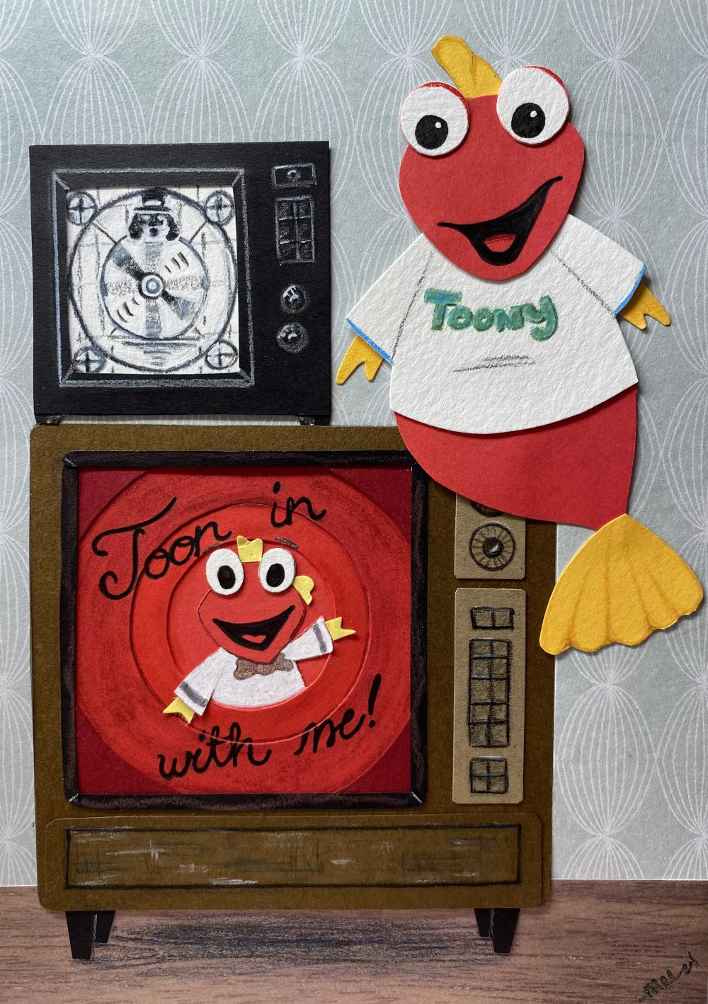 Saturday morning cartoons on weekdays? Doesn't get better than Toony and the gang!