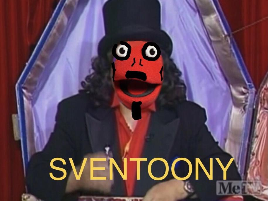 I've been a fan of Svengoolie for many years, and now I'm a fan of Toon In With Me, so I combined the two! I'm enjoying the old toons - takes me way back. Thank you!