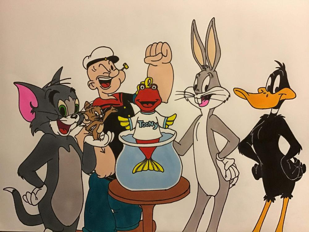 I grew up loving Looney Tunes, Tom and Jerry, and all sorts of classic cartoons. I always watched them with my dad and now I can watch them with my fiance on Toon in with Me