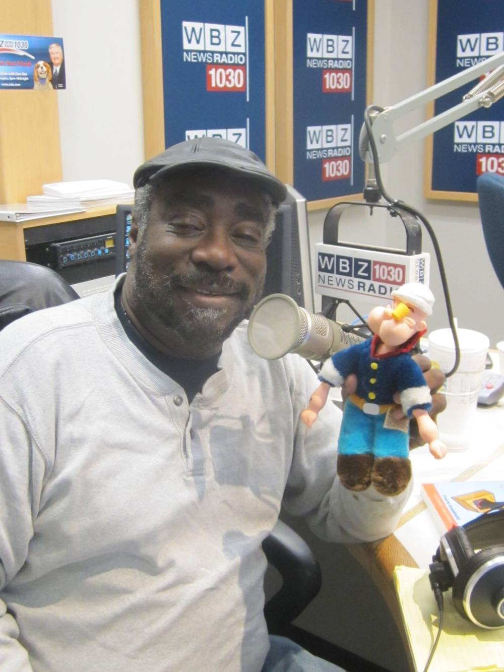 Morgan White, popular host of WBZ Radio's
