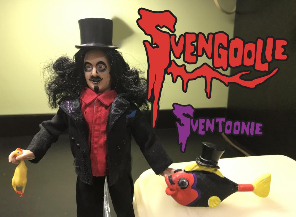 My two favorite Horror Host, Svengoolie and Sventoonie!