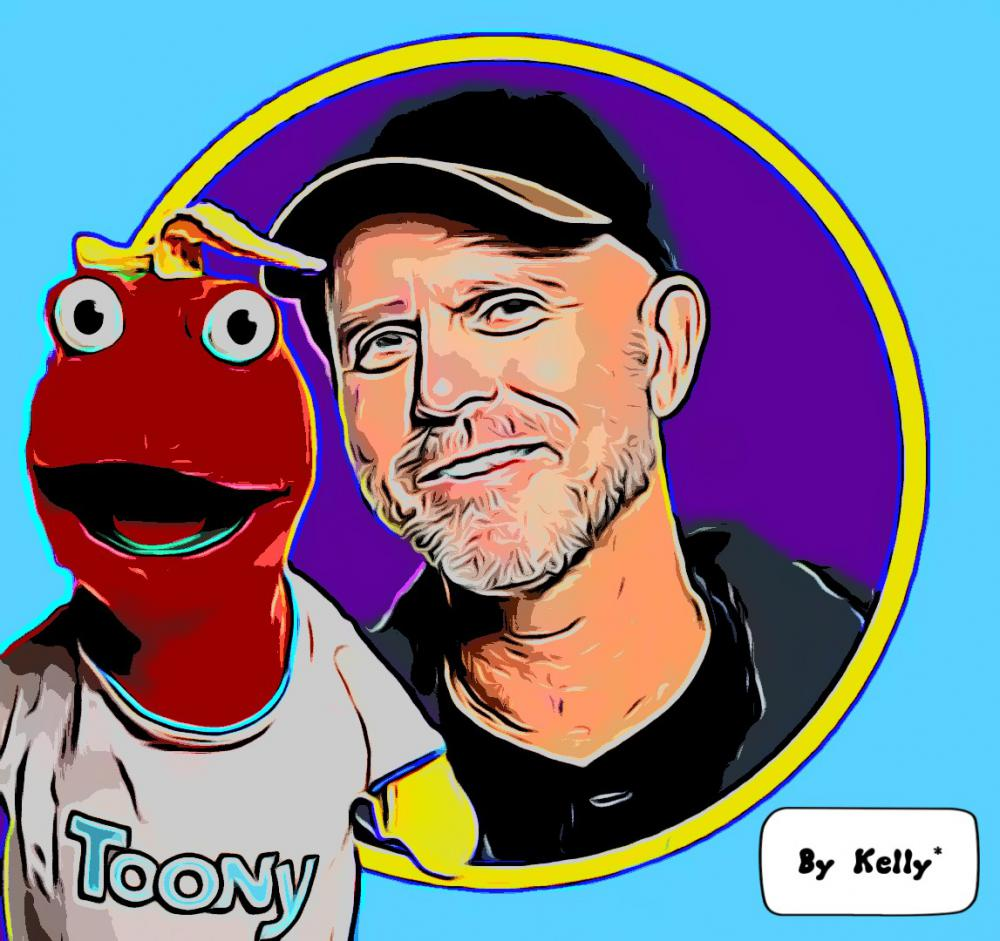 Computer artwork of Bill & Toony!
