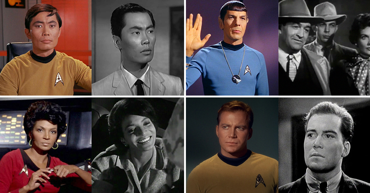 The First Television Roles For The Cast Of Star Trek