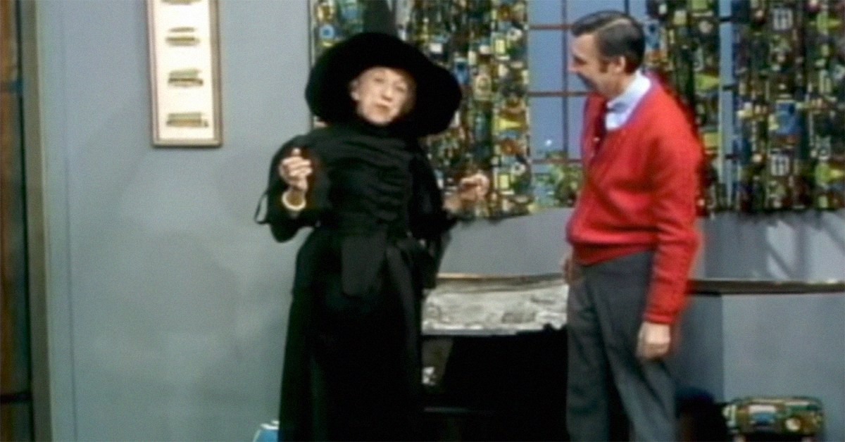 In 1975 The Wicked Witch Went On Mister Rogers So Kids Would Not Be Afraid Of Her
