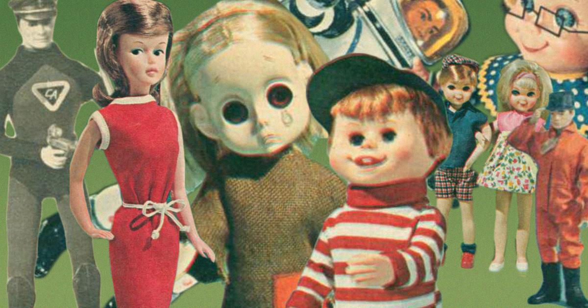 Vintage Barbie Tutti  Paper dolls in MINIATURE!!!!